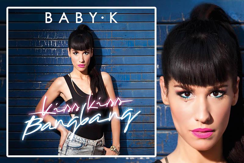 """""""Kiss Kiss Bang Bang"""" il nuovo album di Baby-K"""