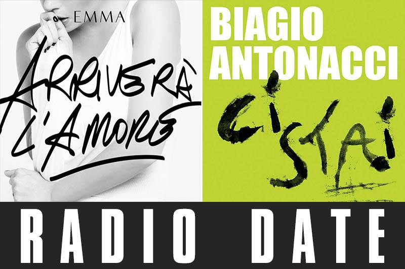 Emma e Biagio Antonacci: in uscita i nuovo singoli
