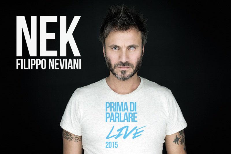 """Nek: pronto a partire """"Prima di Parlare Live 2015"""""""