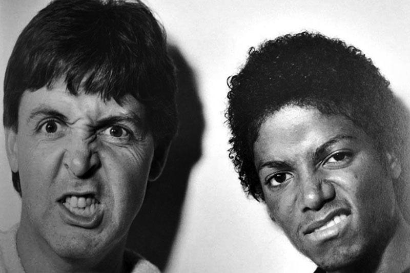 """McCartney e Jackson: """"Say Say Say"""" Remix 2015"""