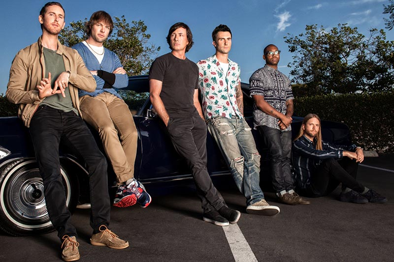 "Maroon 5: esce il best off ""Singles"""