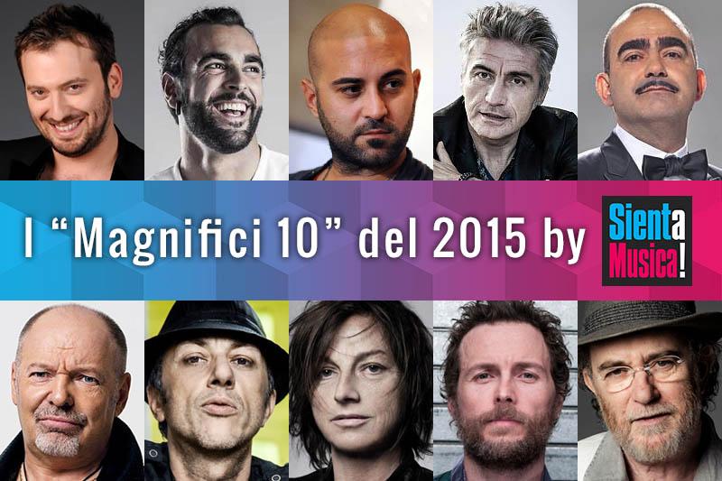 I Magnifici 10 (video italiani) del 2015 secondo SaM!