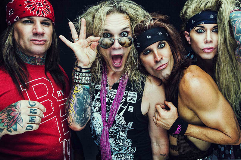 """Steel Panther: è arrivato """"Live From Lexxi's Mom's Garage"""""""