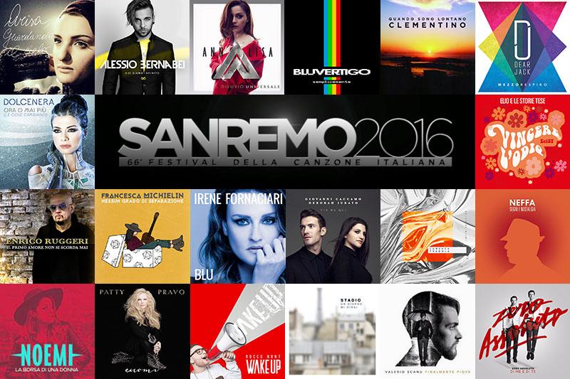Sanremo 2016 – Video Compilation