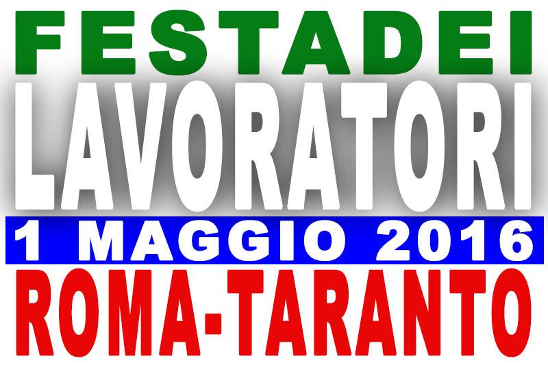 Concerti 1 maggio 2016: gli artisti di Roma e Taranto