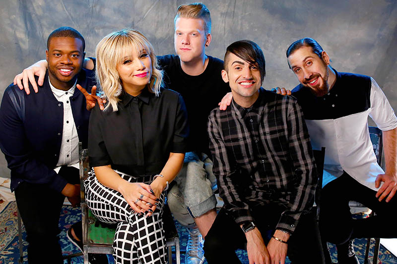 "Pentatonix: online il nuovo video ""If I Ever Fall in Love"" ft. Jason Derulo"
