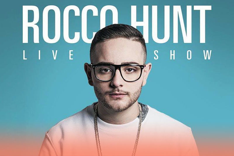 """Rocco Hunt """"Wake Up Summer Tour 2016"""" – 03-09-2016"""