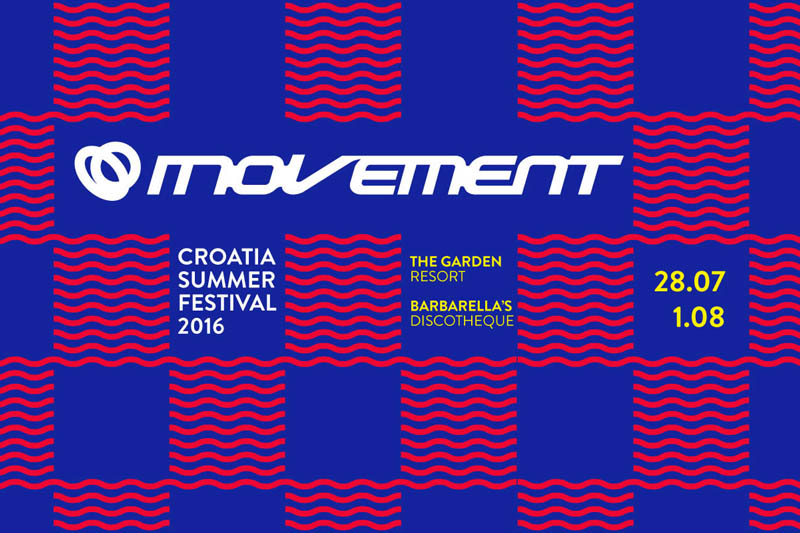 MOVEMENT CROATIA SUMMER FESTIVAL 2016
