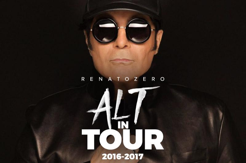 "Renato Zero ""ALT in Tour 2017"" – 29-01-2017"