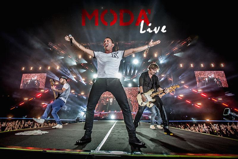 "Modà ""Passione Maledetta Tour 2017"" – 18-03-2017"