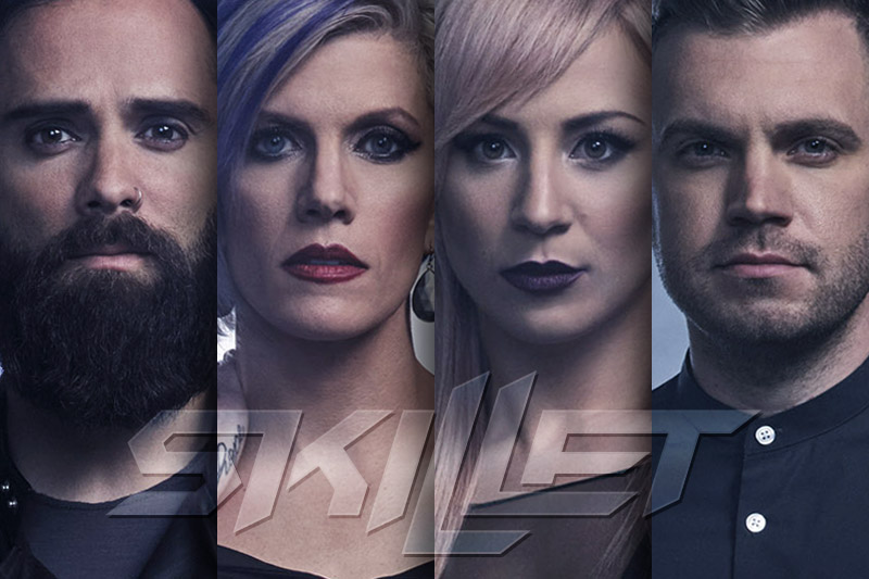 "Skillet: online il video ufficiale di ""Back From The Dead"""