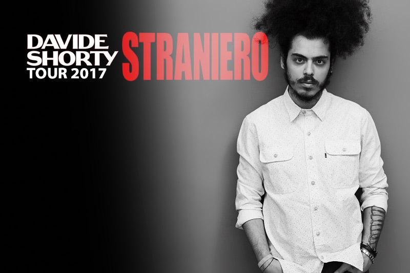 "28-7-2017 – Davide Shorty ""Straniero Tour 2017"""