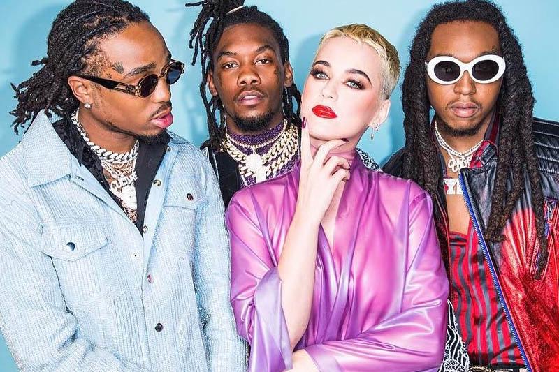 """Katy Perry gustosa pietanza nel video di """"Bon Appétit"""" ft. Migos"""