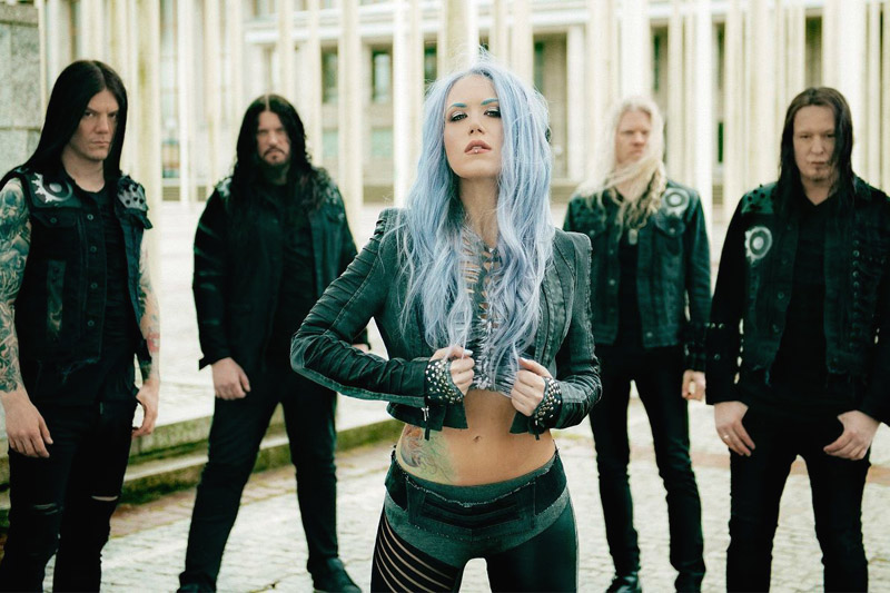 "Arch Enemy: online il video ufficiale di ""The World Is Yours"""
