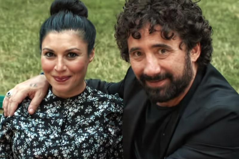 """Giusy Ferreri e Federico Zampaglione nel video di """"L'Amore Mi Perseguita"""""""