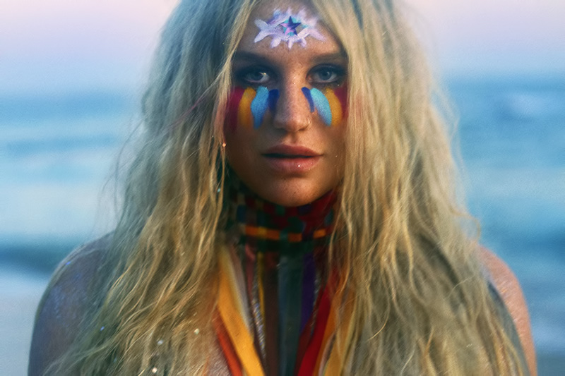 "Kesha: online il video ufficiale di ""Rainbow"""