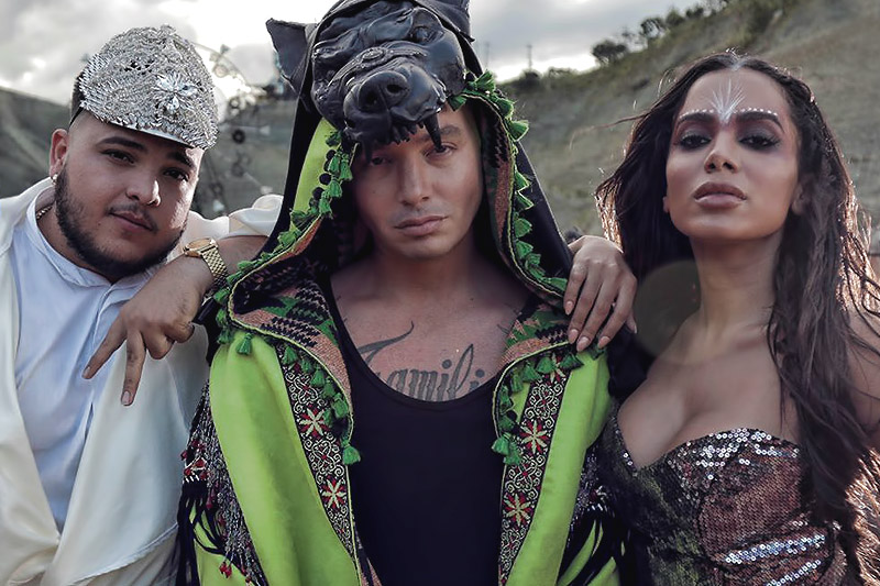 "J. Balvin, Anitta, Jeon: online il video ""Machika"""