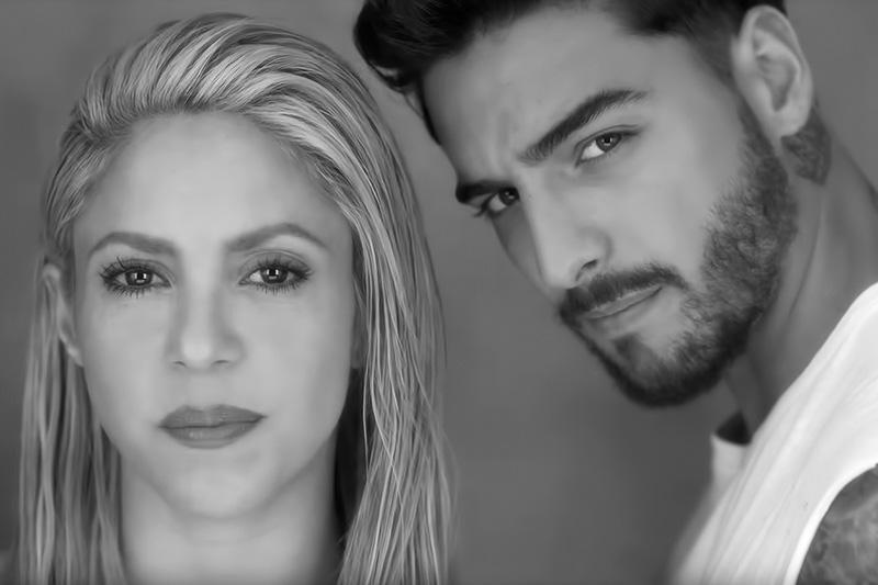 "Shakira: online il video di ""Trap"" ft. Maluma"
