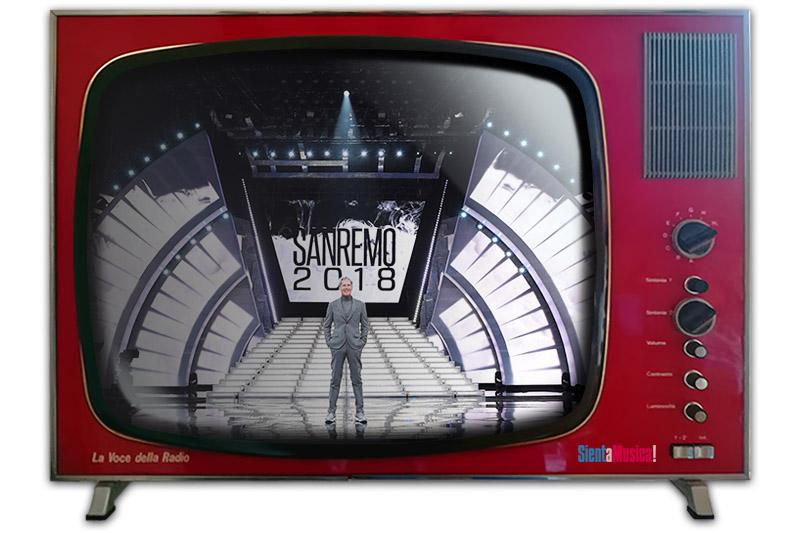 Sanremo 2018: il programma della prima serata