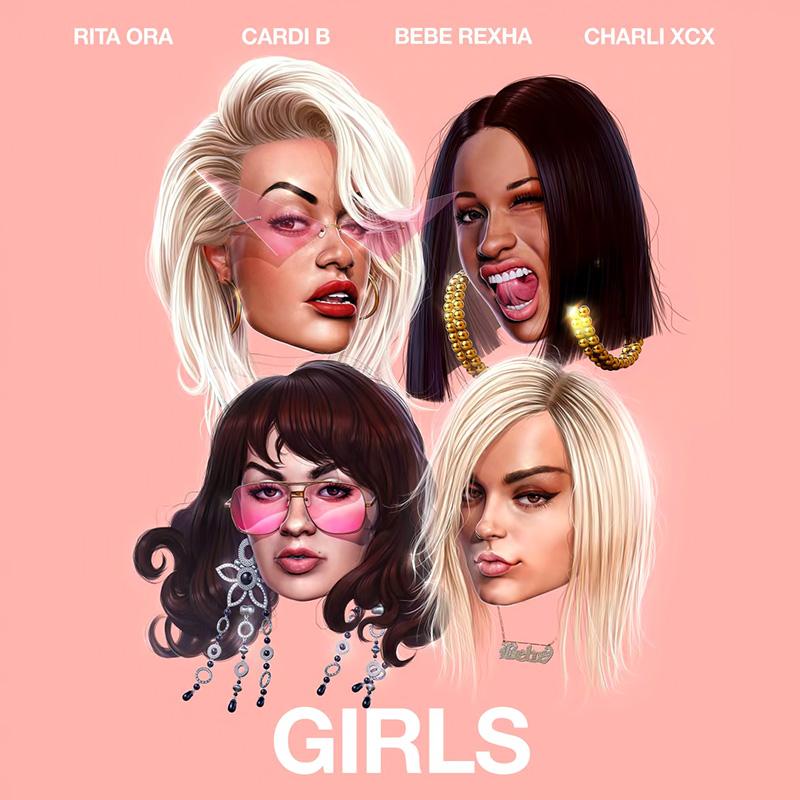 Girls - Rita Ora, Cardi B, Bebe Rexha & Charli XCX (Cover)