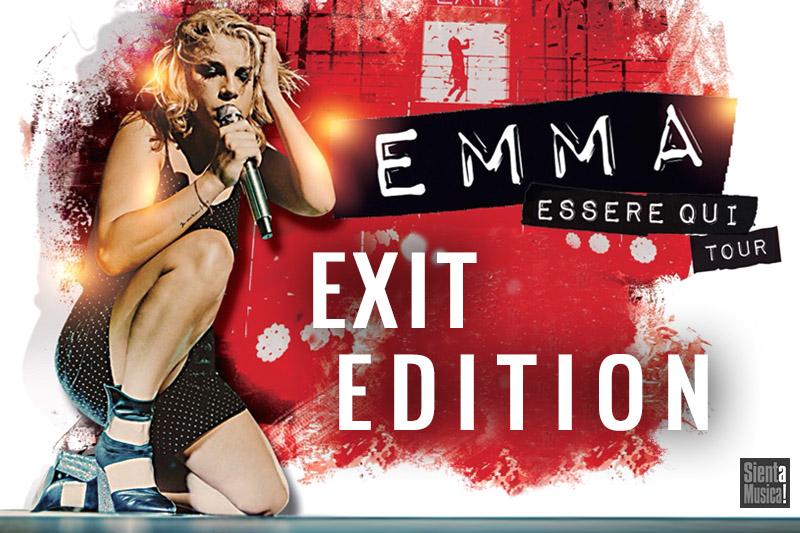 "1-03-2019 – Emma ""Essere Qui Tour Exit Edition"" 2019"