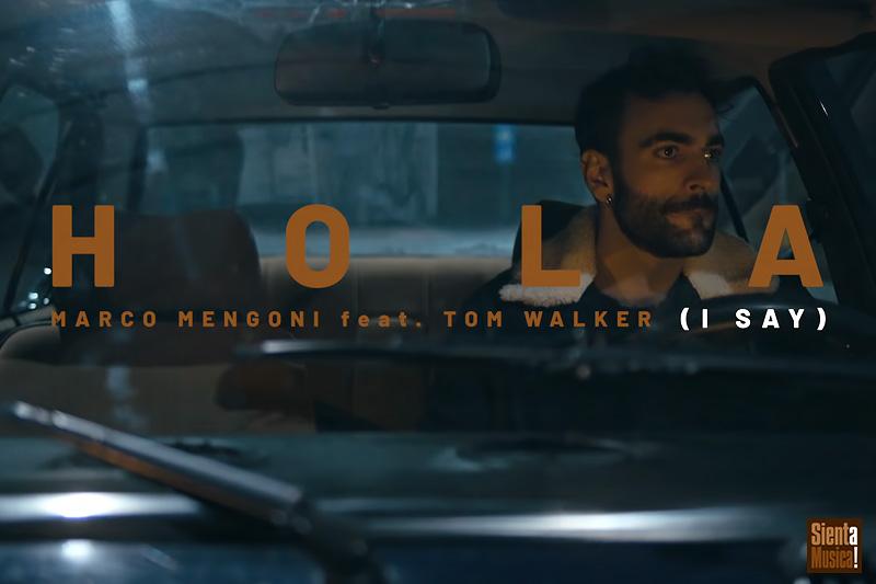 """Marco Mengoni e Tom Walker nel video di """"Hola (I Say)"""""""
