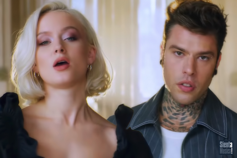 """Fedez: online """"Holding Out For You"""" ft. Zara Larsson"""