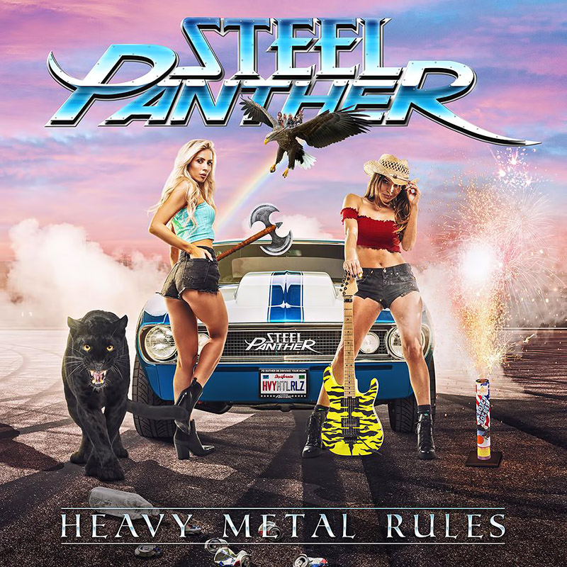Heavy Metal Rules - Steel Panther (Cover)
