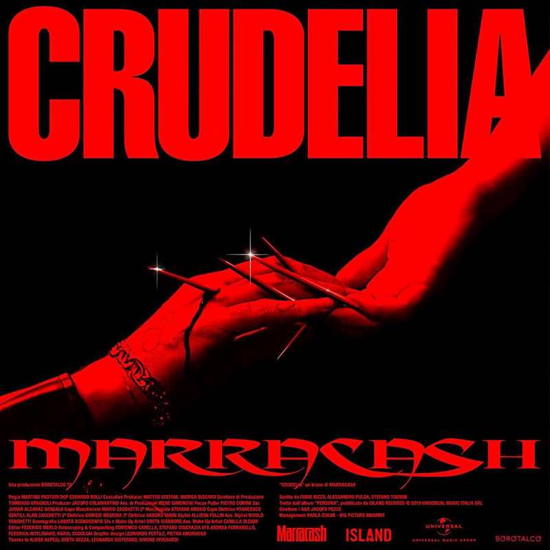 Crudelia (I Nervi) - Marracash (Cover)