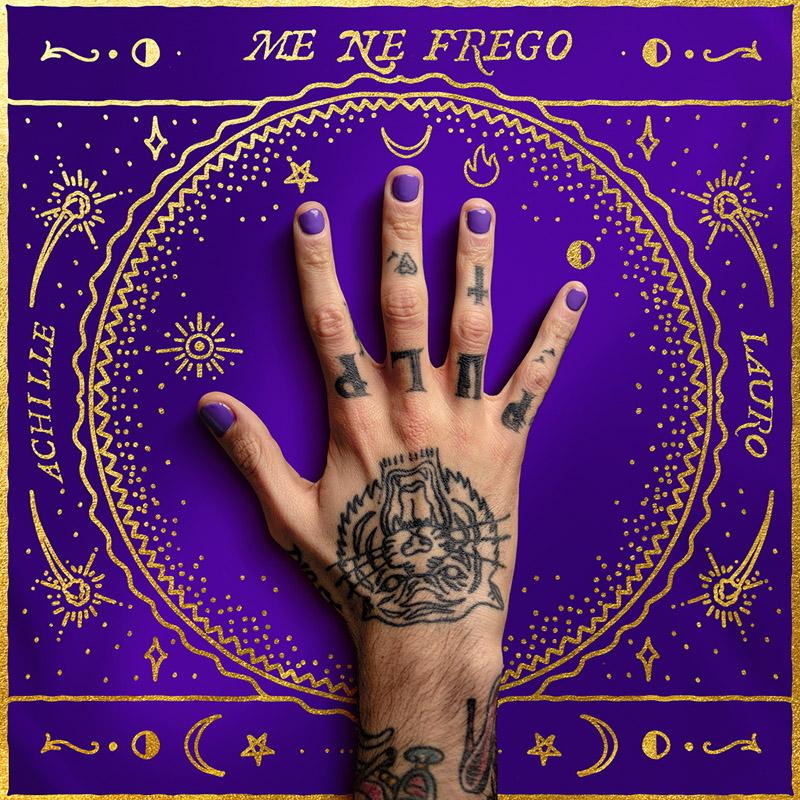 Me Ne Frego - Achille Lauro (Alt_Cover)