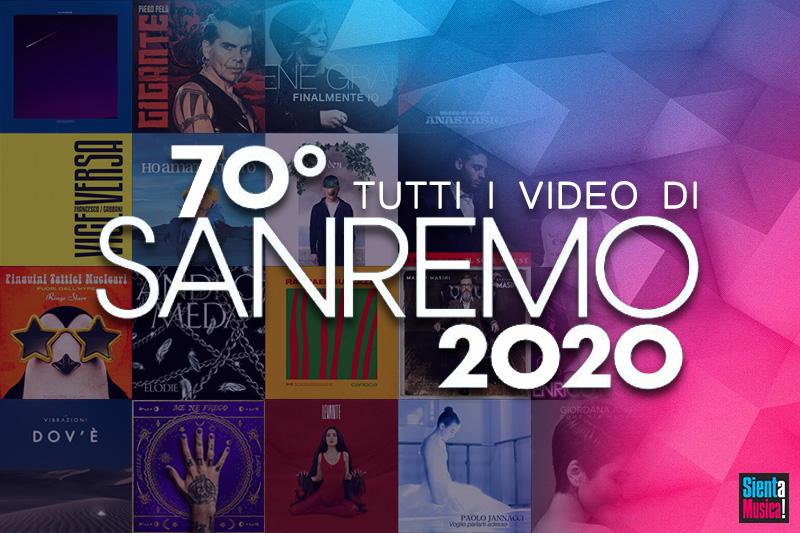 Tutti i video di Sanremo 2020 - SaM