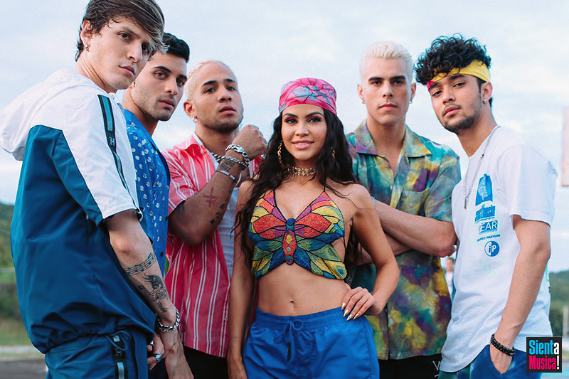 "CNCO: è uscito il nuovo video ""Honey Boo"" feat. Natti Natasha"