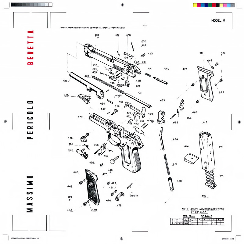 Beretta - Massimo Pericolo (Cover)