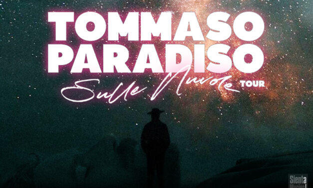 "15-04-2021 – Tommaso Paradiso ""Sulle Nuvole Tour"""