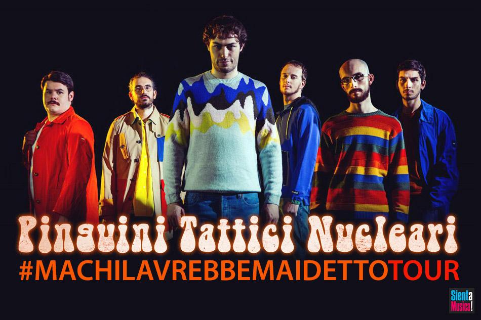 """25-09-2021 – Pinguini Tattici Nucleari """"#MCLAMD"""" Tour"""