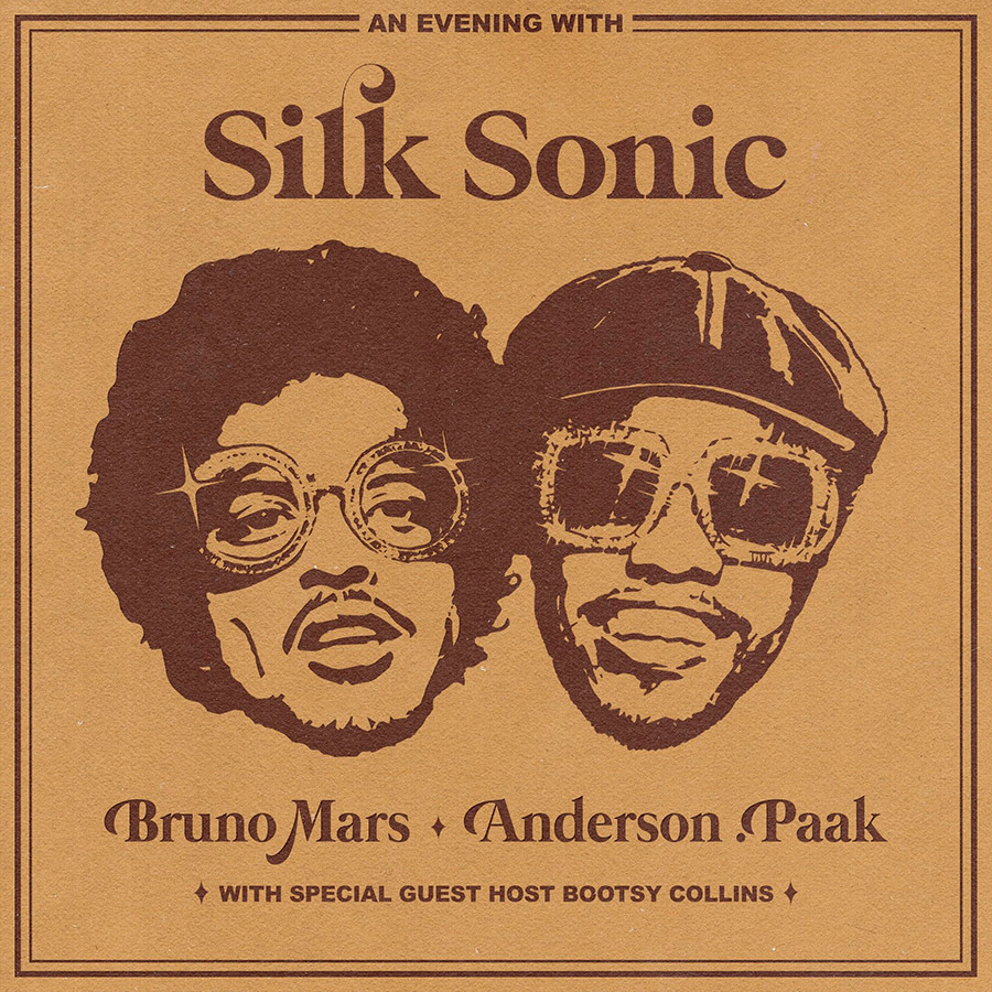 An Evening With Silk Sonic (Cover)