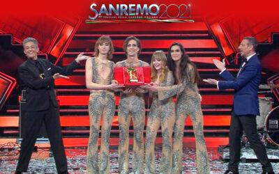 I Måneskin vincono Sanremo 2021