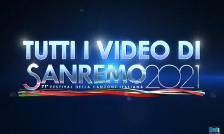 Sanremo 2021: tutti i video delle canzoni