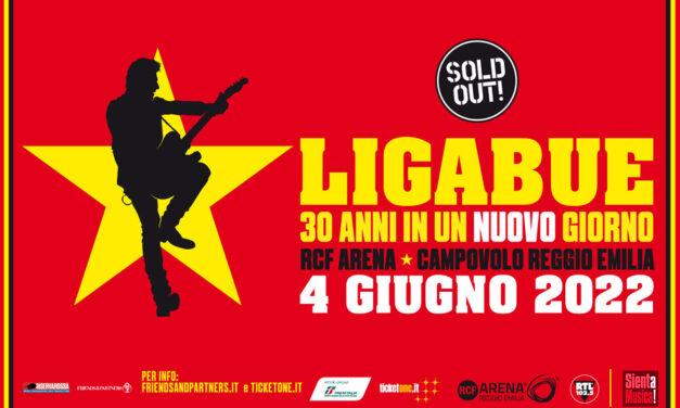 """4-06-2022 – Ligabue """"30 Anni In Un (Nuovo) Giorno"""""""